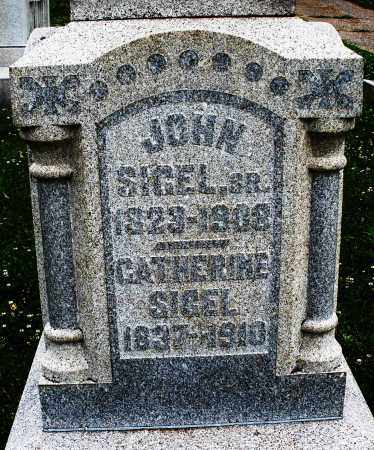 SIGEL, CATHERINE - Montgomery County, Ohio | CATHERINE SIGEL - Ohio Gravestone Photos
