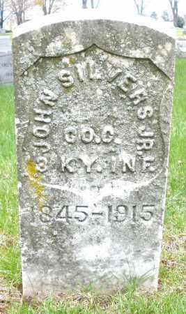SILVERS, JOHN JR. - Montgomery County, Ohio | JOHN JR. SILVERS - Ohio Gravestone Photos