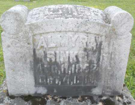 SINKS, ALMYRA - Montgomery County, Ohio | ALMYRA SINKS - Ohio Gravestone Photos
