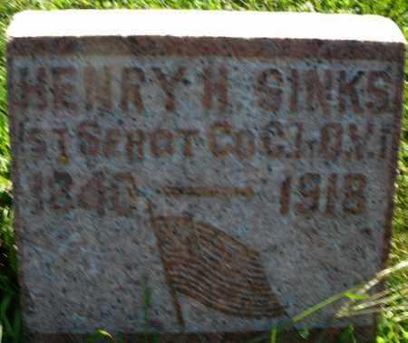 SINKS, HENRY H. - Montgomery County, Ohio | HENRY H. SINKS - Ohio Gravestone Photos