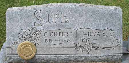 SIPE, G. GILBERT - Montgomery County, Ohio | G. GILBERT SIPE - Ohio Gravestone Photos