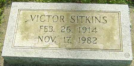 SITKINS, VICTOR - Montgomery County, Ohio | VICTOR SITKINS - Ohio Gravestone Photos