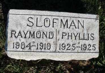 SLOFMAN, PHYLLIS - Montgomery County, Ohio | PHYLLIS SLOFMAN - Ohio Gravestone Photos
