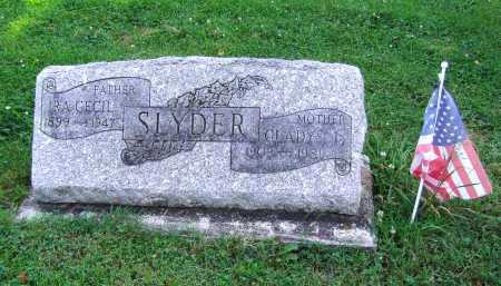 SLYDER, IRA CECIL - Montgomery County, Ohio | IRA CECIL SLYDER - Ohio Gravestone Photos