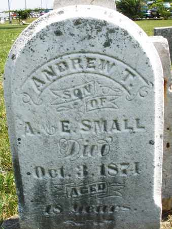 SMALL, ANDREW T. - Montgomery County, Ohio | ANDREW T. SMALL - Ohio Gravestone Photos