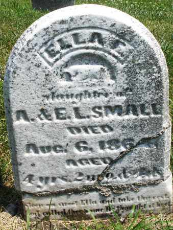 SMALL, ELLA - Montgomery County, Ohio | ELLA SMALL - Ohio Gravestone Photos