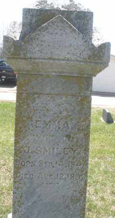 SMILEY, EMMA - Montgomery County, Ohio | EMMA SMILEY - Ohio Gravestone Photos