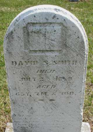 SMITH, DAVID S. - Montgomery County, Ohio | DAVID S. SMITH - Ohio Gravestone Photos