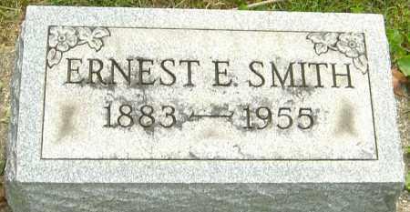 SMITH, ERNEST E - Montgomery County, Ohio   ERNEST E SMITH - Ohio Gravestone Photos