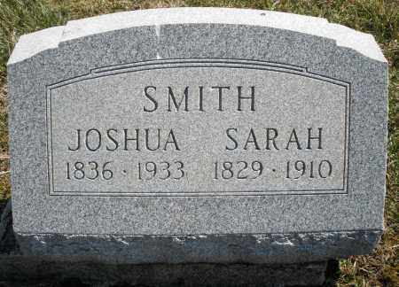 SMITH, JOSHUA - Montgomery County, Ohio | JOSHUA SMITH - Ohio Gravestone Photos