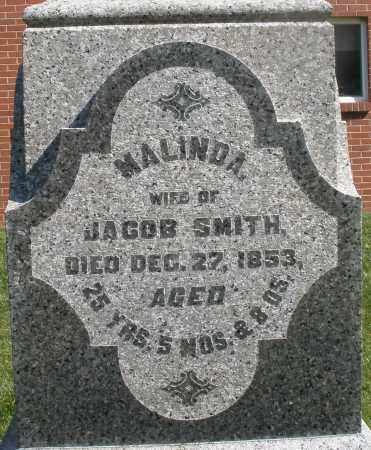 SMITH, MALINDA - Montgomery County, Ohio | MALINDA SMITH - Ohio Gravestone Photos