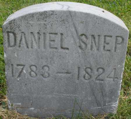 SNEP, DANIEL - Montgomery County, Ohio | DANIEL SNEP - Ohio Gravestone Photos