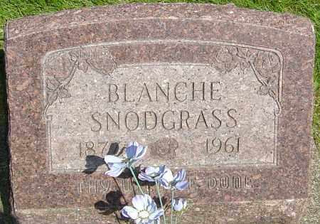 SNODGRASS, BLANCHE - Montgomery County, Ohio | BLANCHE SNODGRASS - Ohio Gravestone Photos