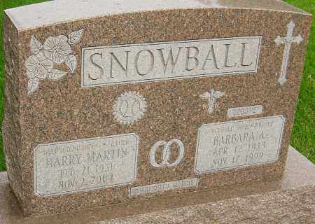 SNOWBALL, BARBARA A - Montgomery County, Ohio | BARBARA A SNOWBALL - Ohio Gravestone Photos