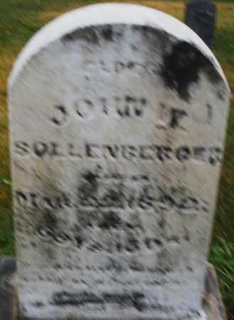 SOLLENBERGER, JOHN W. - Montgomery County, Ohio | JOHN W. SOLLENBERGER - Ohio Gravestone Photos