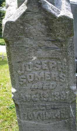 SOMERS, JOSEPH - Montgomery County, Ohio | JOSEPH SOMERS - Ohio Gravestone Photos