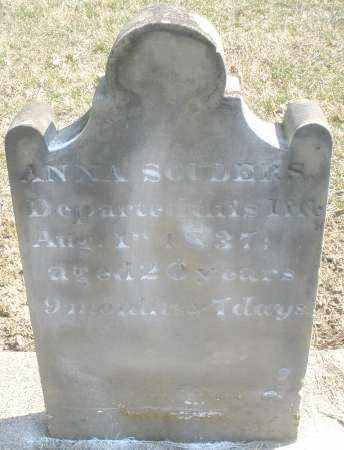 SOUDERS, ANNA - Montgomery County, Ohio | ANNA SOUDERS - Ohio Gravestone Photos