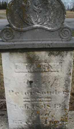 SOUDERS, MARY - Montgomery County, Ohio   MARY SOUDERS - Ohio Gravestone Photos