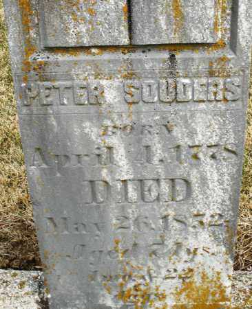 SOUDERS, PETER - Montgomery County, Ohio | PETER SOUDERS - Ohio Gravestone Photos