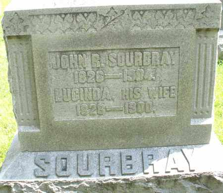 SOURBRAY, LUCINDA - Montgomery County, Ohio | LUCINDA SOURBRAY - Ohio Gravestone Photos