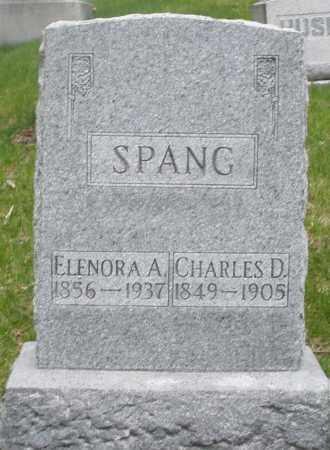 SPANG, ELENORA A. - Montgomery County, Ohio | ELENORA A. SPANG - Ohio Gravestone Photos