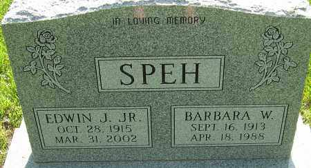 SPEH, BARBARA W - Montgomery County, Ohio | BARBARA W SPEH - Ohio Gravestone Photos