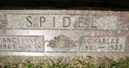 SPIDEL, CHARLES - Montgomery County, Ohio | CHARLES SPIDEL - Ohio Gravestone Photos