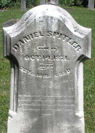 SPITLER, DANIEL - Montgomery County, Ohio | DANIEL SPITLER - Ohio Gravestone Photos