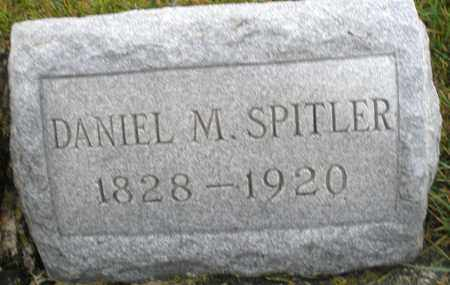SPITLER, DANIEL M. - Montgomery County, Ohio | DANIEL M. SPITLER - Ohio Gravestone Photos