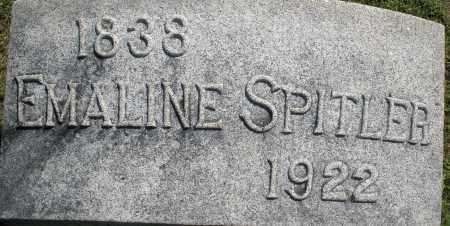 SPITLER, EMALINE - Montgomery County, Ohio | EMALINE SPITLER - Ohio Gravestone Photos