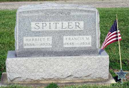 SPITLER, HARRIET E. - Montgomery County, Ohio | HARRIET E. SPITLER - Ohio Gravestone Photos
