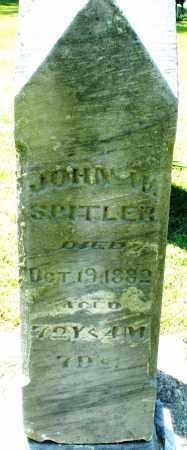 SPITLER, JOHN W. - Montgomery County, Ohio | JOHN W. SPITLER - Ohio Gravestone Photos