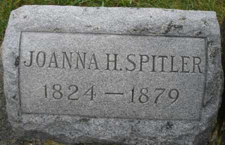 SPITLER, JOANNA H. - Montgomery County, Ohio | JOANNA H. SPITLER - Ohio Gravestone Photos