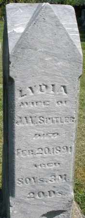 SPITLER, LYDIA - Montgomery County, Ohio | LYDIA SPITLER - Ohio Gravestone Photos