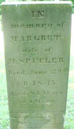 SPITLER, MARGARET - Montgomery County, Ohio | MARGARET SPITLER - Ohio Gravestone Photos