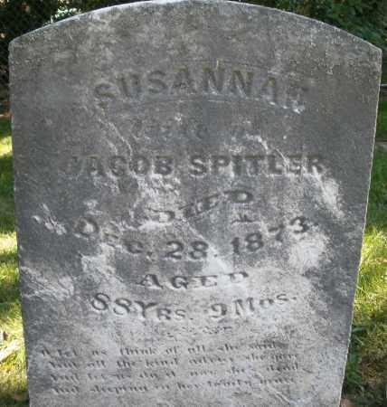 SPITLER, SUSANNAH - Montgomery County, Ohio | SUSANNAH SPITLER - Ohio Gravestone Photos