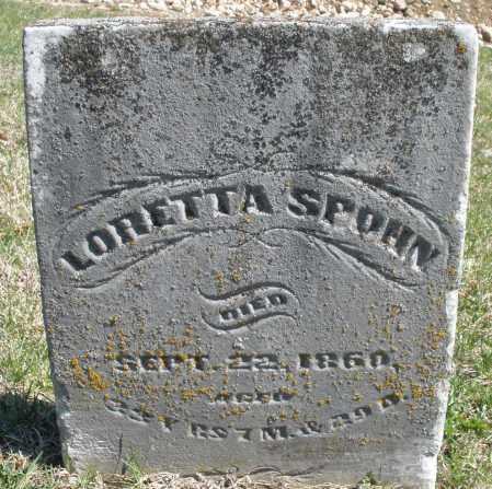 SPOHN, LORETTA - Montgomery County, Ohio | LORETTA SPOHN - Ohio Gravestone Photos