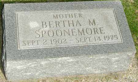 SPOONEMORE, BERTHA M - Montgomery County, Ohio | BERTHA M SPOONEMORE - Ohio Gravestone Photos