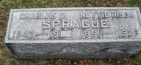 SPRAGUE, NETTIE - Montgomery County, Ohio | NETTIE SPRAGUE - Ohio Gravestone Photos