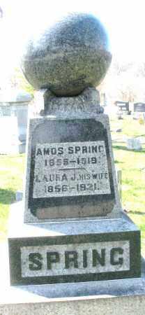 SPRING, AMOS - Montgomery County, Ohio | AMOS SPRING - Ohio Gravestone Photos