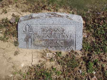 SPRING, GWENA FAYE - Montgomery County, Ohio | GWENA FAYE SPRING - Ohio Gravestone Photos