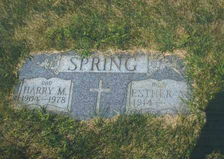 SPRING, HARRY MERRILL - Montgomery County, Ohio | HARRY MERRILL SPRING - Ohio Gravestone Photos