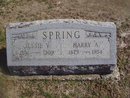 SPRING, HARRY A. - Montgomery County, Ohio | HARRY A. SPRING - Ohio Gravestone Photos