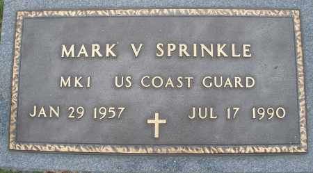 SPRINKLE, MARK V. - Montgomery County, Ohio | MARK V. SPRINKLE - Ohio Gravestone Photos