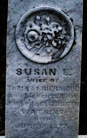 SRIERMOOD, SUSAN E. - Montgomery County, Ohio | SUSAN E. SRIERMOOD - Ohio Gravestone Photos