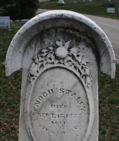 STALEY, ENOCH - Montgomery County, Ohio | ENOCH STALEY - Ohio Gravestone Photos