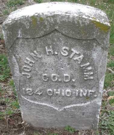 STAMM, JOHN H. - Montgomery County, Ohio | JOHN H. STAMM - Ohio Gravestone Photos