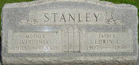 STANLEY, VIRGINIA - Montgomery County, Ohio | VIRGINIA STANLEY - Ohio Gravestone Photos