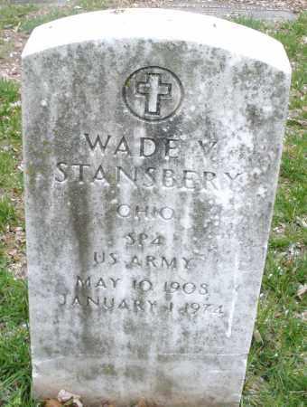 STANSBERY, WADE V. - Montgomery County, Ohio | WADE V. STANSBERY - Ohio Gravestone Photos