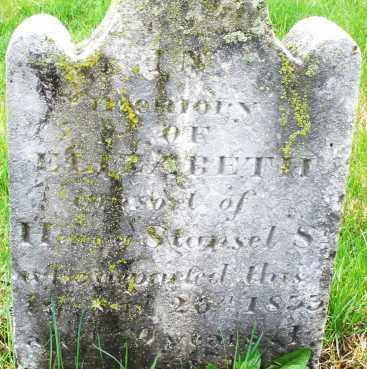 STANSEL, ELIZABETH - Montgomery County, Ohio | ELIZABETH STANSEL - Ohio Gravestone Photos